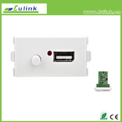 지능적인 홈 USB 벽 격판덮개 USB 충전기 USB 벽면 소켓