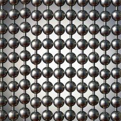 Рельефная из нержавеющей стали и шторки