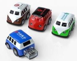 سيارة كارتون بسيليكون صغيرة الحجم سعة 64 جيجابايت USB فلاش محرك أقراص محمول طرف USB 2.0 Pendrive USB