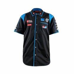 주문 팀 착용 건조한 적합 남녀 공통 스포츠 획일한 승진 자수 셔츠 제조자