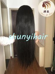 Vierge 100 % du prix de gros cheveux humains 360 perruque dentelle Dentelle Frontale droite Suisse 360 dentelle perruque frontale