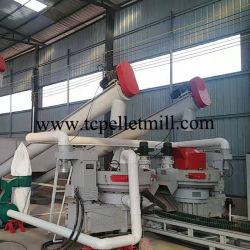 中国の提供の高品質新しいデザイン米の殻の木製の餌機械無駄の販売のための木製の餌の製造所の生産ライン