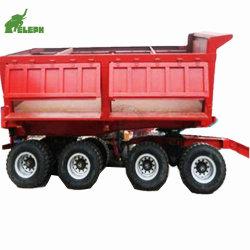 Мини-погрузчик в полном объеме перевозок сельскохозяйственных разгрузки прицепа