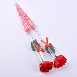 Dia da Mãe dons única flor sabão rosa de flores artificiais