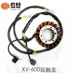 Pièces de moto magnéto bobine de stator pour héros/JH70