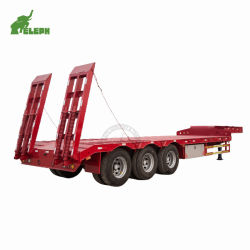 ثقيل - واجب رسم شحن من حفارة نقل [لووبد] شاحنة [سمي] مقطورة