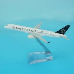 별 연립 B757-200 금속 비행기 모형