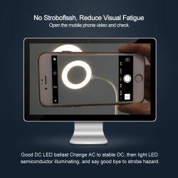 Dimmable LEDの電気スタンド表ライト目の心配のオフィスランプ