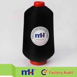 Оптовая торговля 150d/1 100% полиэфирных нитей резьбы Overlock текстур