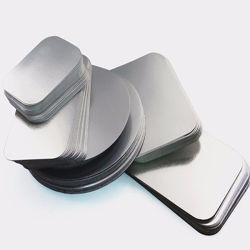 de Zilveren Zware Deksels van het Document van de Aluminiumfolie 620GSM 7inch voor Container