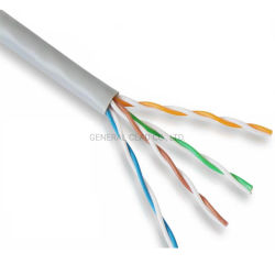 24AWG ADSL2+ 자체 지원 광대역 실내 전화 케이블