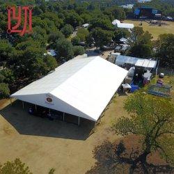 Роскошный большой открытый ПВХ свадебные мероприятия Группа палатку с бегущей строкой навес
