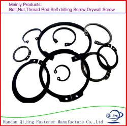 Les anneaux de retenue pour les axes (externe) , les circlips, DIN471, anneaux de retenue pour les alésages (interne) , les circlips, DIN472 Les anneaux de retenue DIN 6799