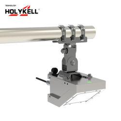 قياس مستوى مياه الرادار مقياس تدفق مياه المجارير من شركة Holykell Non-Contact Measurement Radar Water Level Flow Meter for sur المراقبة