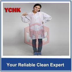 カスタマイゼーション再使用可能なポリエステルクリーンルームESDの衣服