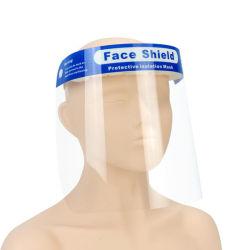 얼굴 방패 유리 두 배는 투명한 얼굴 방패 덮개 반대로 안개 편들었다