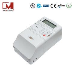 شاشة LCD تعريفية الخطوة أجهزة قياس فرعية للطاقة مدفوعة مسبقًا أحادية الطور