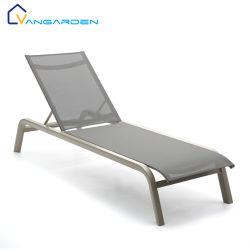 La eslinga de calidad excelente piscina jardín exterior de aluminio Chaise Tumbona