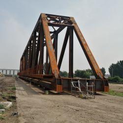 Ponticello di fascio prefabbricato del ponticello ferroviario della struttura d'acciaio