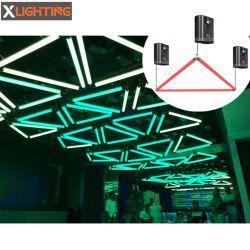 Luz de Navidad LED DMX Winch tubo cinética