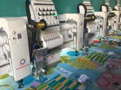 20 têtes de haute qualité Embroidery Machine multi - Aiguille Multi - couleur à plat et Machine à broder de chenille