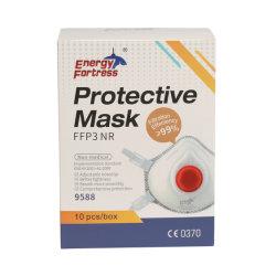 접히는 Ffp3mask 제조자 마스크 재사용할 수 있는 백색 버드나무 가면