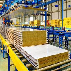 La SGS à haute efficacité énergétique du panneau de laine de verre ignifuge pour la construction en acier