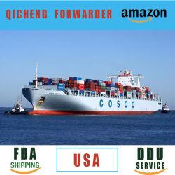 FCL LCL DDU FBA 아마존 씨씨 40ft 냉장 보관 중국 20피트 컨테이너선(Shipping 20ft Container China)에서 미국 컨테이너로