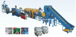 1000 de Lijn van het Recycling van de Fles van het Huisdier van kg/u van de Machine (het Verpletteren & Was & het Drogen)