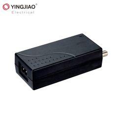 Internationaler Fernsehapparat-Antennen-Adapter-Tischplattenlaptop-Stromversorgung 12V 6A 24V 3A Gleichstrom-Versorgung mit f-Verbinder