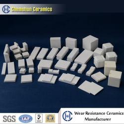 産業摩耗の保護のためのChemshunのアルミナの陶磁器耐久力のあるライニング