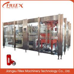 자동적인 알루미늄 깡통 음식 또는 식용 식물성 기름 간장 막걸리 충전물 기계