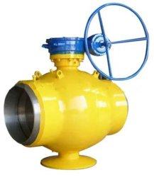 La soldadura de hierro dúctil y brida/A105/Wcb/acero/Ss/carbono, el engranaje Worm/eléctrica/hidráulica/neumática, el Gas /Thermal/cuerpo de válvula de bola de la industria