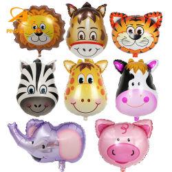 도매 생일 파티 장식 Balon Globos 세트 메탈릭 라텍스 생분해성 헬륨문자 해피 새해 할로윈 LED 번호 동물 부품 번호