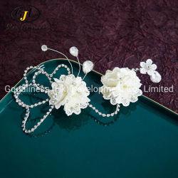 مزركش قوس نبات الثعير عنوان الزهور أزياء أزياء أزياء الزفاف