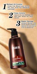 Comercio al por mayor humedad intensa Champú de cabello
