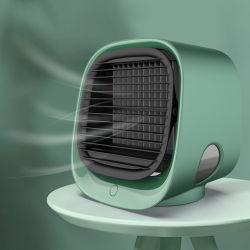 Стрелкового стенда охладителя нагнетаемого масляным туманом распыления воды электрического вентилятора USB аккумулятор портативного ручного мини вентилятор Портативный кондиционер воздуха для подарка (вентилятор-25)