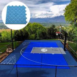 أرضية مرنة للوسادة يمكن فيها قفل أرضية أرضية ملعب كرة السلة