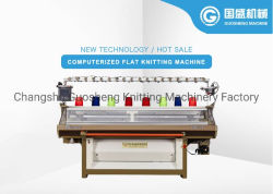 Fabricante de Changshu tricotosa rectilínea automática de Jacquard de venta