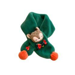 Cadeau de Noël en peluche pour les enfants des foulards en automne et hiver avec une épaisseur supplémentaire pour les garçons et filles bébé cou clôturer pour garder au chaud et agréable