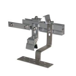 알루미늄 솔라 패널 마운팅 키트 미드 엔드 클램프