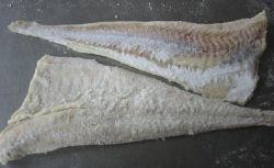 Filetes de bacalhau do Pacífico salgadas secas (bacalhau)