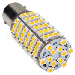 耐衝撃性LED車ランプ車LEDランプ(T20-BY15-120Z3528)