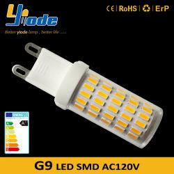 3.5W는 백색 에너지 절약 전구 G9 기본적인 LED 빛을 데운다