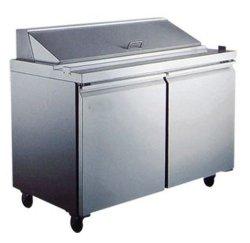 공기 냉각 상업용 워크벤치 냉장고 / 샐러드 바 준비 테이블 냉장고 및 CE 표준