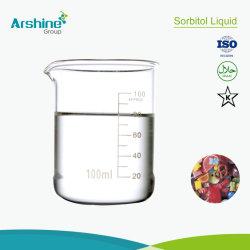 Venta caliente los Aditivos Alimentarios CAS50-70-4 de edulcorante líquido Sorbitol