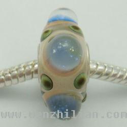 Le site Lampwork Perles de bijoux de mode bijoux (WZL0486-PZ)