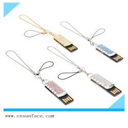 Unità flash USB con pendente in gioielli di alta qualità
