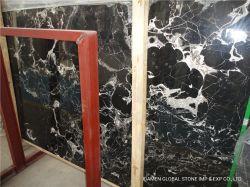 La Chine naturel poli Silver Portorož/gris/beige dalles de pierre découpées à format pour l'intérieur de la dalle de marbre carreaux de revêtement mural, cuisine et salle de bains Tops