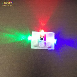 Mayorista LED Pulse sensor de movimiento Zapata encaje Luz intermitente de color Arriba LED Shoelace Light
